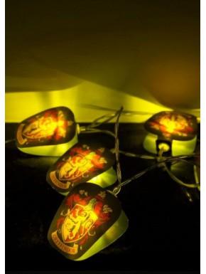 Tira de lámparas fiesta Gryffindor