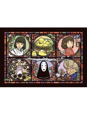 Puzzle Viaje de Chihiro Art Crystal Wonder Letter