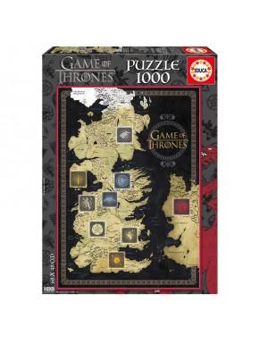Puzzle Juego de Tronos 1000 piezas