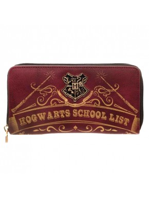 Cartera Hogwarts Harry Potter School List