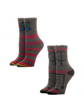 Set 2 pares de calcetines Harry Potter