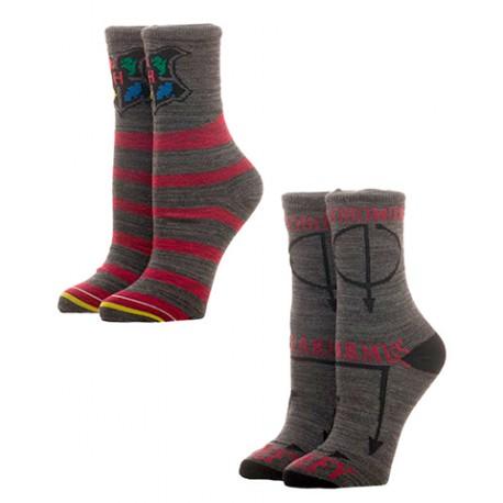 Set 2 pares de calcetines Harry Potter
