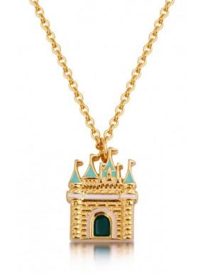 Colgante oro Castillo Cenicienta Disney