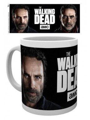 Taza Walking Dead Rick & Negan