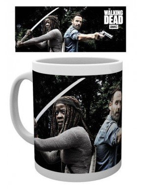 Taza Walking Dead Rick & Michonne