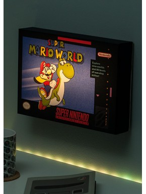 Cuadro Iluminado Super Mario World