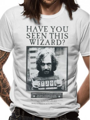 Harry Potter Camiseta Sirius Wanted