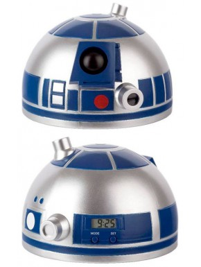 Despertador Proyector Star Wars R2-D2 Head