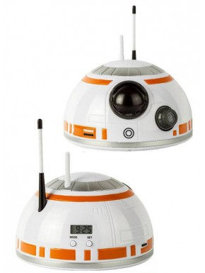 Despertador Proyector Star Wars BB8 Head