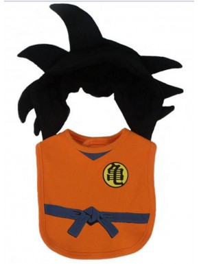 Babero Dragon Ball Goku