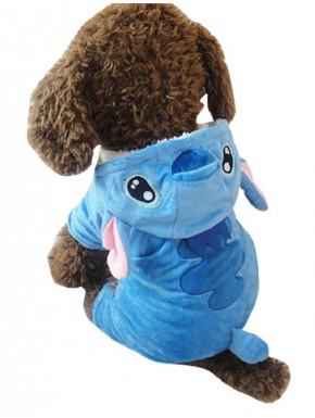 Sudadera para mascotas Disney Stitch