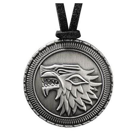 Colgante Medallón Stark Juego de Tronos