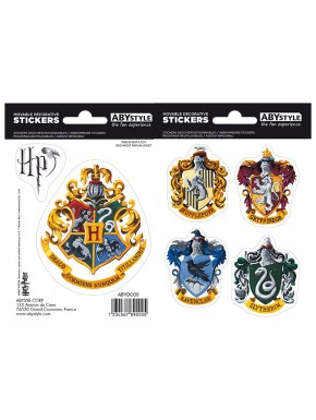 Set pegatinas Hogwarts Harry Potter x2