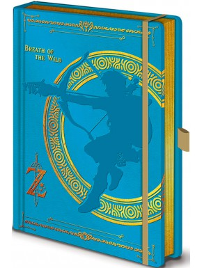 Libreta Premium Zelda Breath of the Wild