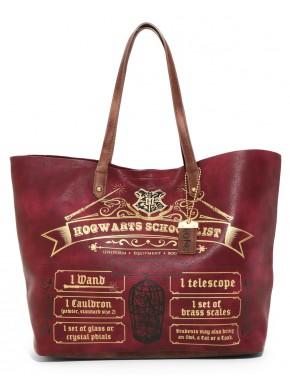 Bolso con asas Hogwarts Harry Potter