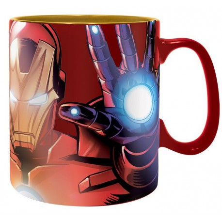Taza Iron Man Marvel Armored Avenge