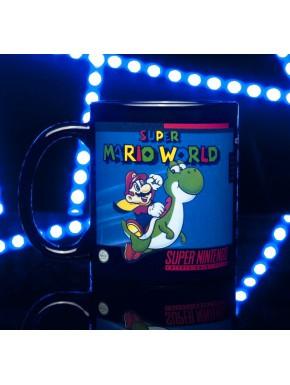 Taza térmica Súper Mario World Nintendo