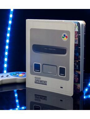 Libreta Cuaderno Super Nintendo