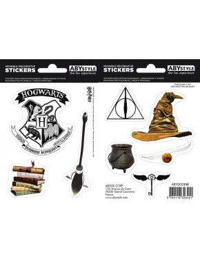 Set pegatinas Harry Potter Magical Objects x2