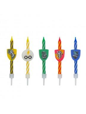Surtido de Velas de Cumpleaños Harry Potter