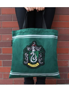 Bolsa de Algodón Harry Potter Slytherin Crest