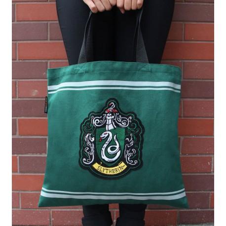 Bolsa de Algodón Harry Potter Slytherin Crest