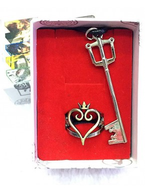 Set Anillo y Colgante Kingdom Hearts