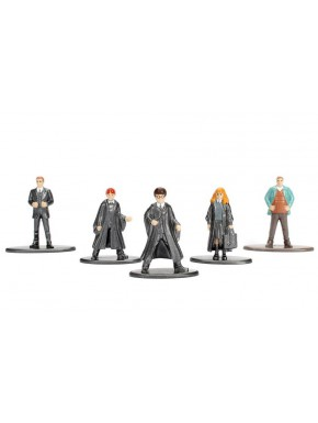 Pack 5 Minifiguras Harry Potter Nano Metalfigs Diecast 4 cm