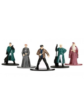 Pack 5 Minifiguras Harry Potter Quidditch Nano Metalfigs Diecast 4 cm
