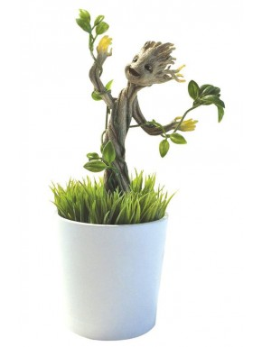 Figura Groot que crece y brilla