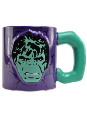 Taza Relieve Hulk Marvel Comics