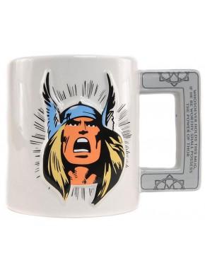 Taza Relieve Thor Marvel Comics