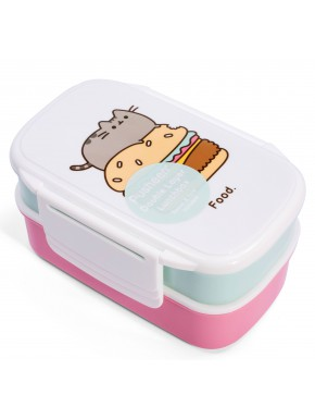 Set Fiambrera doble Pusheen Cat