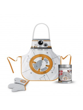 Star Wars delantal y manopla BB-8 Tarro de Cristal
