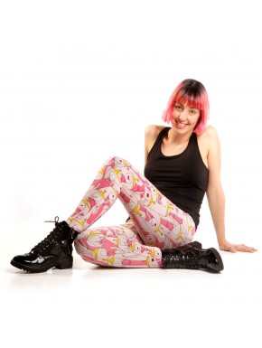 Leggins Princesa Chicle Hora de Aventuras