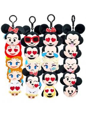 Llavero Peluche Sorpresa Disney Emoji Blitz