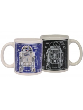 Taza térmica Star Wars R2-D2 Blueprint