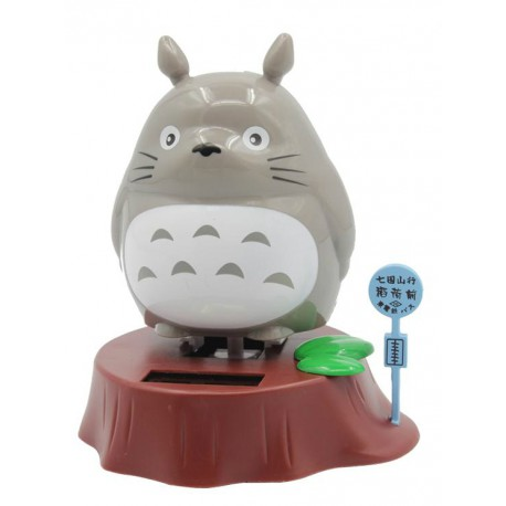 Figura de cuerda 10 cm Totoro Bus Stop
