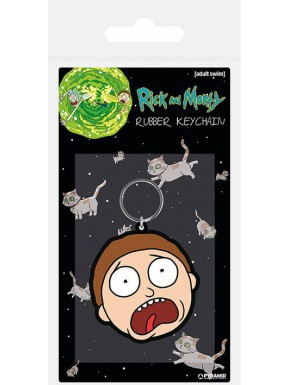 Llavero caucho Morty Rick y Morty 6 cm