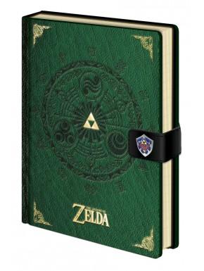 Libreta Premium Zelda Trifuerza & Hyrule