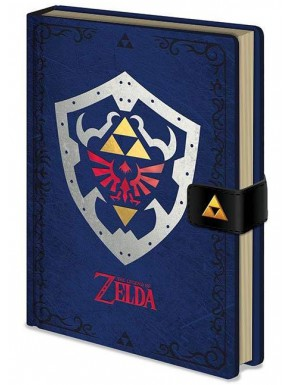 Libreta Premium Zelda Escudo Hyrule