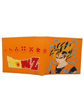 Cartera caucho Dragon Ball Saiyan