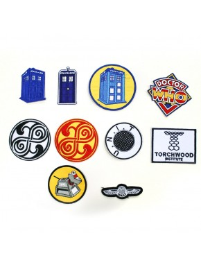 Parches Doctor Who