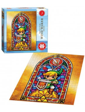 Puzzle Nintendo Zelda Wind Waker Vidrieras