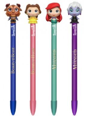 Bolígrafo Funko Pop! Disney La Sirenita y La Bella y la Bestia