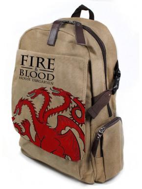 Mochila Targaryen Fire and Blood
