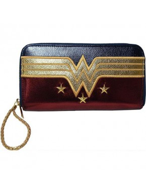 Cartera Monedero Larga Wonder Woman