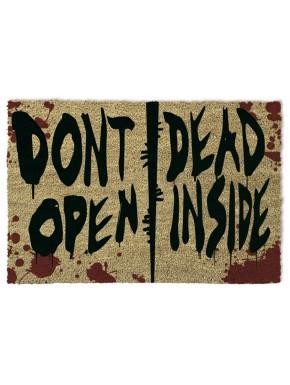 Felpudo coco Walking Dead Don't Open Dead Inside