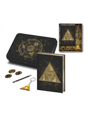 Pack regalo Zelda Libreta + Llavero + Boli + Chapas