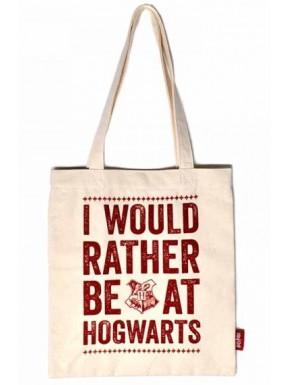 Bolsa de Algodón Harry Potter Hogwarts Eslogan